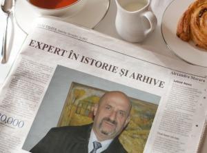 Expert in istorie si arhivistica